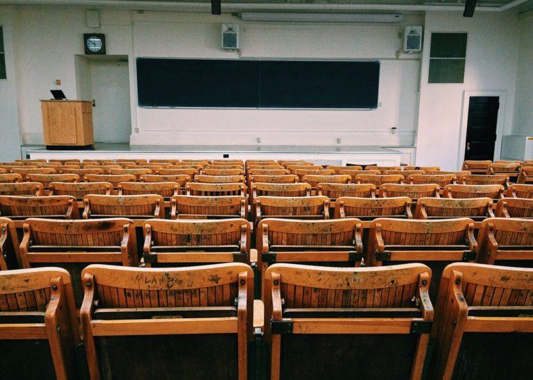 empty classrom